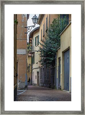 Cernobbio Framed Print by Capt Gerry Hare