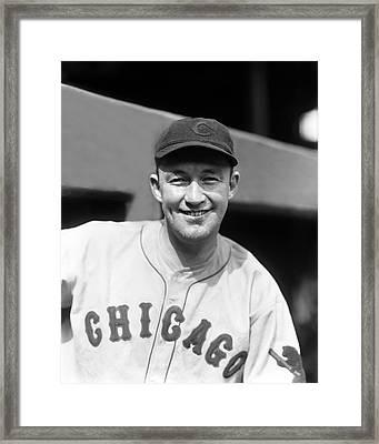 Charles L. Gabby Hartnett Framed Print by Retro Images Archive