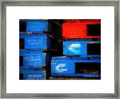 Checkmate Framed Print by Joe Jake Pratt