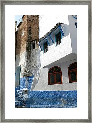 Chefchaouen (chaouen Framed Print by Nico Tondini
