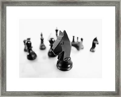Chess Framed Print by Falko Follert
