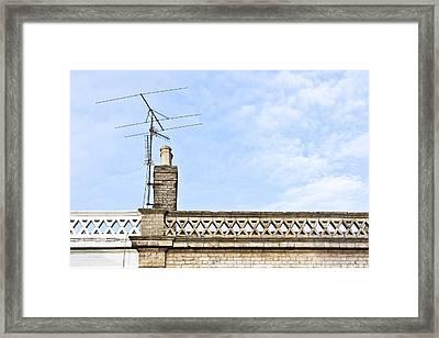 Chimney Framed Print by Tom Gowanlock