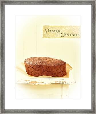 Christmas Cake Framed Print by Amanda And Christopher Elwell