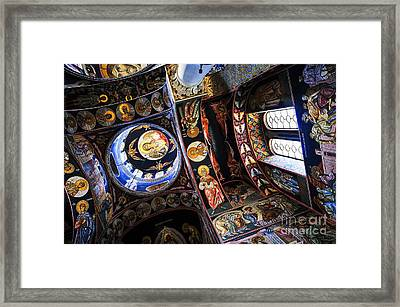 Church Interior Framed Print by Elena Elisseeva