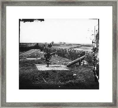 Civil War Centreville, 1862 Framed Print by Granger