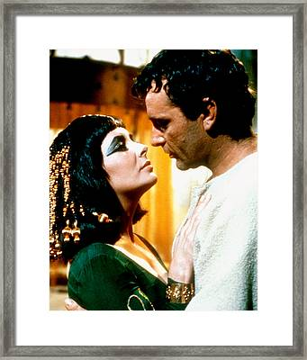 Cleopatra  Framed Print by Silver Screen