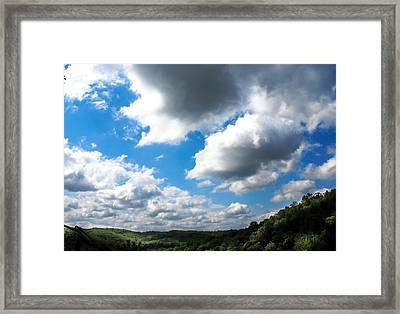 Clouds Framed Print by Optical Playground By MP Ray