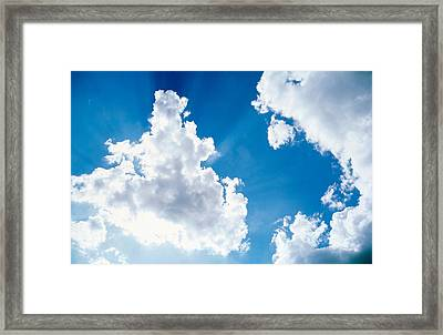 Cloudy Sky Framed Print by Panoramic Images