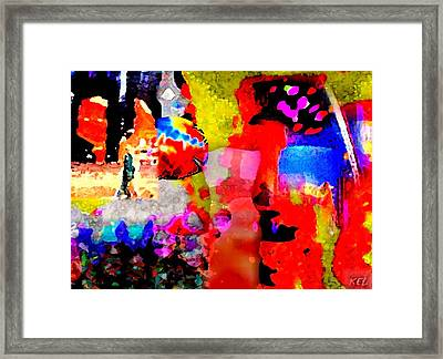 Colorful Framed Print by Kelly McManus