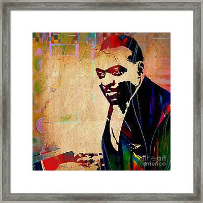 Count Basie Collection Framed Print by Marvin Blaine