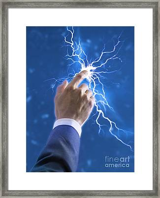 Creativity, Conceptual Image Framed Print by Science Photo Library