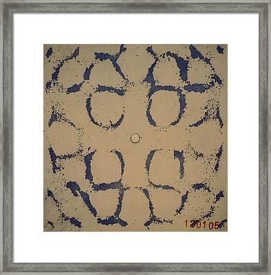 Cymatics-2005 Framed Print by Jeremy Johnson