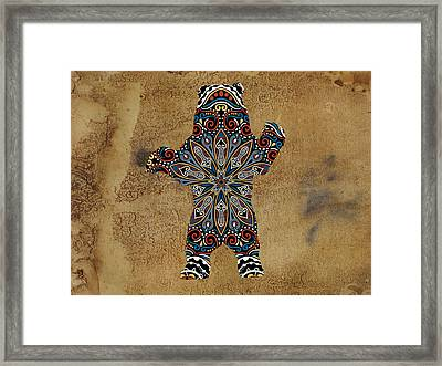 Da Bear Framed Print by Celestial Images