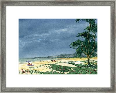Dark Sky Framed Print by Ray Cole