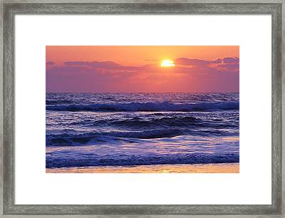 Dawn Of A New Day Framed Print by Bruce Bley