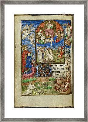 Day Of Judgement Framed Print by British Library