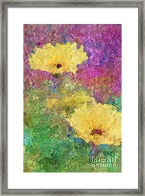 Delight Framed Print by Betty LaRue