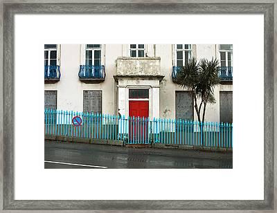 Derelict House Framed Print by Tom Gowanlock