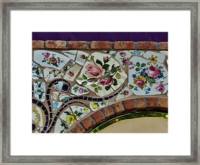 Detail Mosaics Framed Print by Charles Lucas
