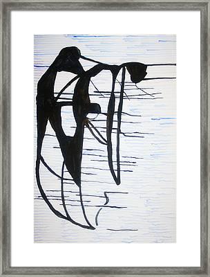 Dinka Motherhood - South Sudan Framed Print by Gloria Ssali