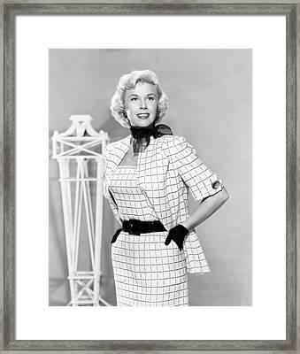 Doris Day, Ca. Early 1950s Framed Print by Everett