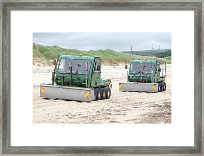 Dounreay Beach Radiation Monitoring Framed Print by Public Health England