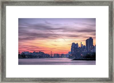 Down River Framed Print by JC Findley