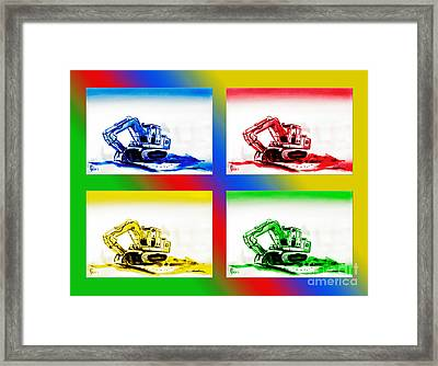 Dozer Mania II Framed Print by Kip DeVore