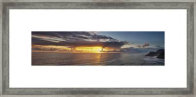 Drama After The Storm Framed Print by Andrew Soundarajan