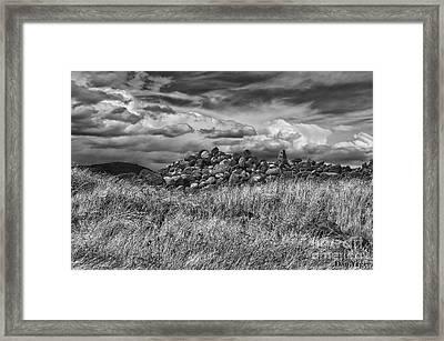 Dramatic Sky Framed Print by Dan Yeger