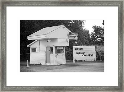 Drive-in Theater Framed Print by Frank Romeo