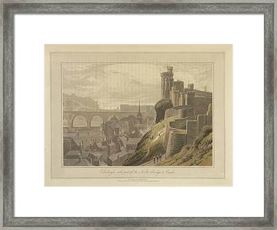 Edinburgh Framed Print by British Library