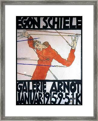 Egon Schiele (1890-1918) Framed Print by Granger