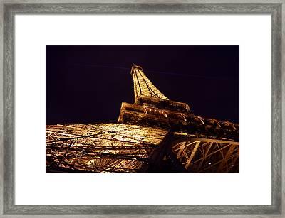 Eiffel Tower Paris France Framed Print by Patricia Awapara