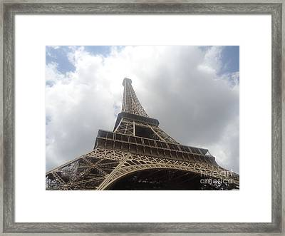 Eiffel Tower  Framed Print by Tashia  Summers
