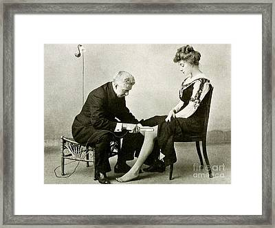Electro-therapeutics, 1910 Framed Print by Science Source