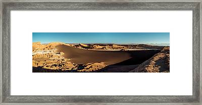 Elevated View Of Desert, Valle De La Framed Print by Panoramic Images