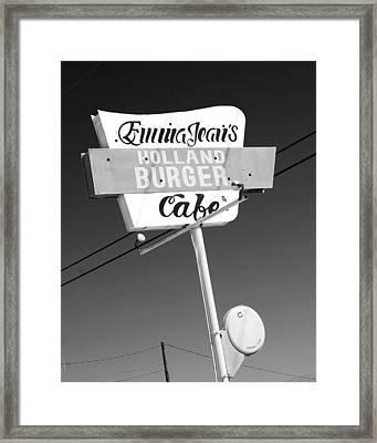 Emma Jean's Framed Print by Charlette Miller
