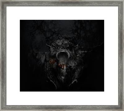 Empire Of Ashes Framed Print by David Fox