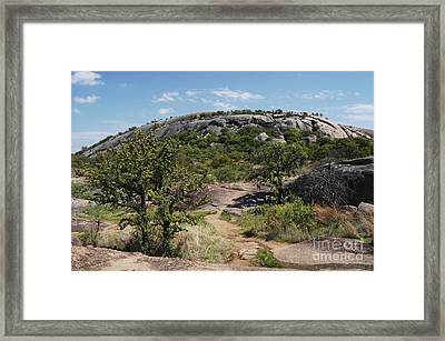 Enchanted Rock Framed Print by Gregory G. Dimijian