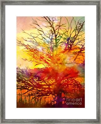 Evening Glow Framed Print by Lutz Baar