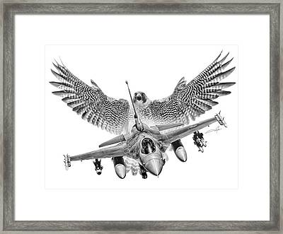 F-16 Fighting Falcon Framed Print by Dale Jackson