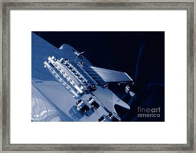 Familiar Blues Framed Print by Robert Frederick