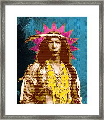 Feather Maker Framed Print by Gary Grayson