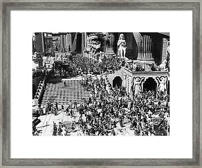 Film Intolerance, 1916 Framed Print by Granger