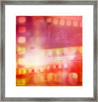 Film Negatives  Framed Print by Les Cunliffe