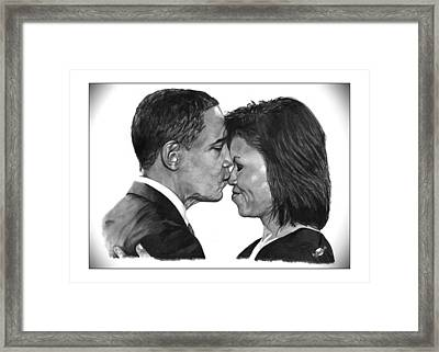 First Order Of Business Framed Print by Brian Wylie