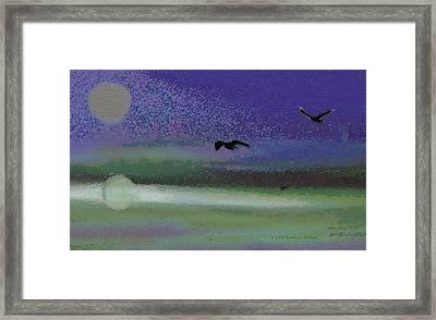 Flight Framed Print by Lenore Senior