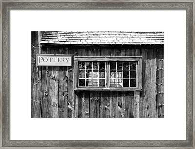 Flint Hill Pottery Framed Print by Guy Whiteley