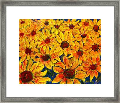 Flowers Framed Print by Don Thibodeaux